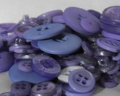 100 Multi Sizes Round Buttons Periwinkle