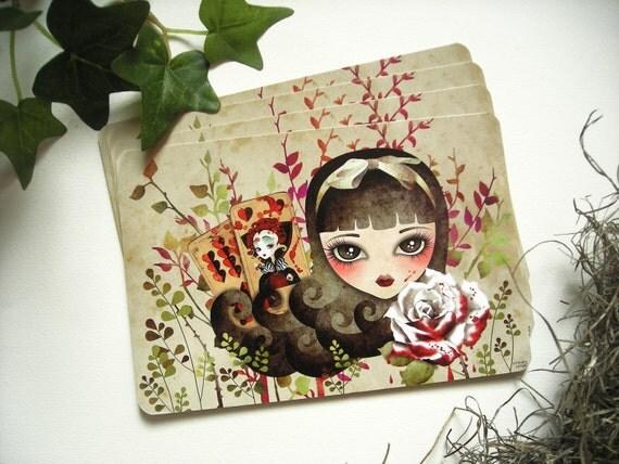 Hidden Garden, Limited Edition Postcard