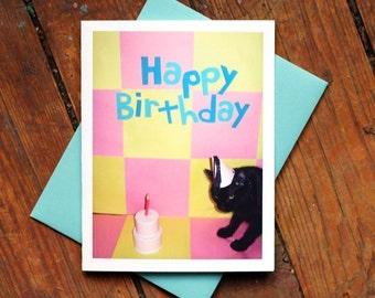AC Happy Birthday Greeting Card