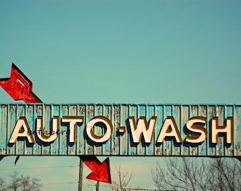 Auto Wash 5x7