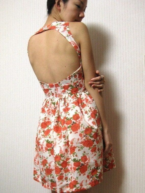 Cut out dress - Made to Order