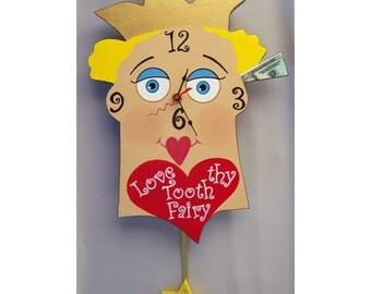 Love thy Tooth Fairy Clock