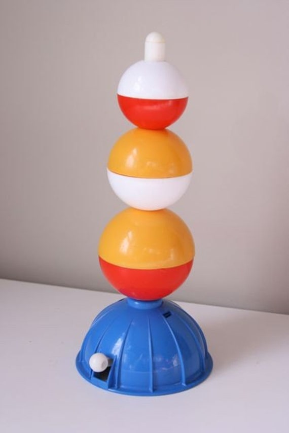 Vintage Discovery Toys Stack And Pop