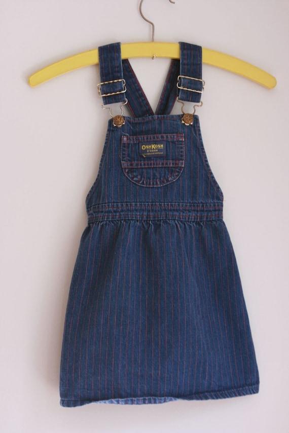 Vintage denim Osh Kosh jumper size 3/4t