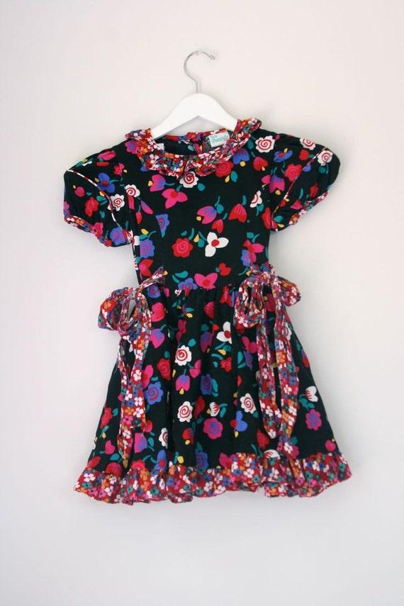 Vintage Kate Greenaway dress 5/6T