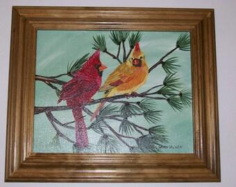 Cardinals on Canvas