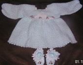 Elena's coming home dress - Crochet Pattern