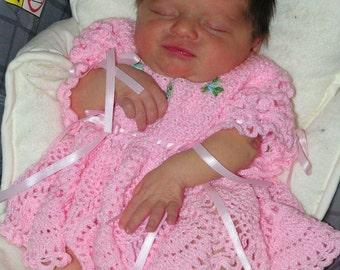 Amelia's coming home dress - Crochet Pattern