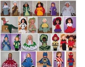 30 Crochet Patterns for 4.5 inch Kelly Set 10