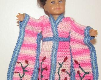 American Girl Mini Crochet Pattern - Kimono