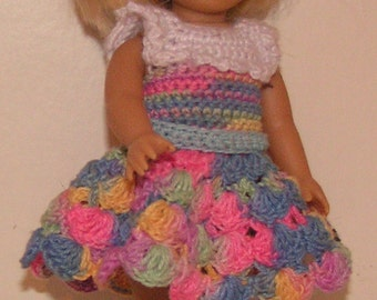 American Girl Mini Crochet Pattern - Patchwork