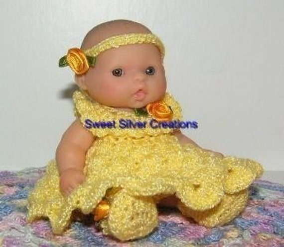 Crochet Pattern 5.5 inch Berenguer - Sunshine