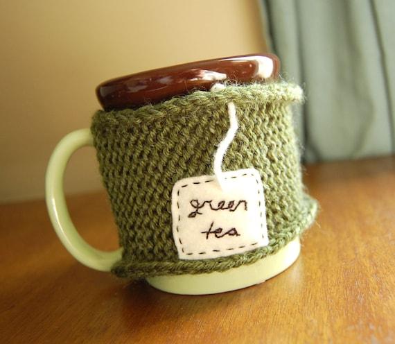 Green Tea Mug Cozy