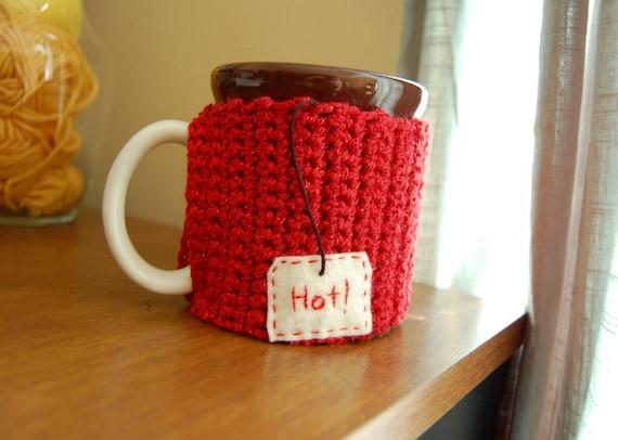 HOT Tea Mug Cozy