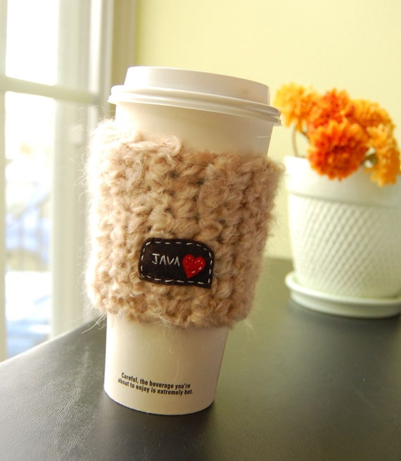Java Love On-the-Go Cup Cozy