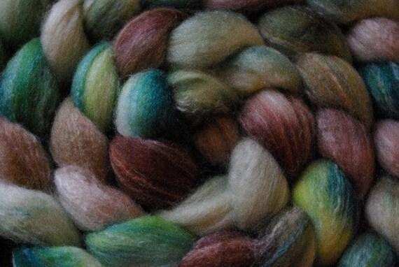 Lord Of The Rings Inspired Spinning Fiber 4 oz. Merino Bamboo Tussah Silk