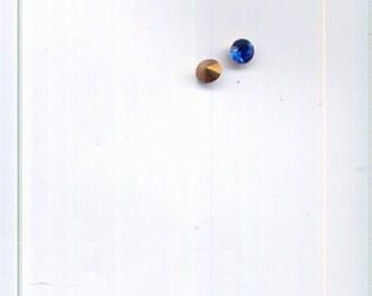 144 PP16 Art. 1100 Capri Blue Swarovski Rhinestones