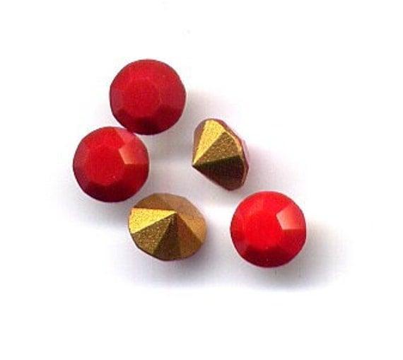 Lot of 144 PP9 Cherry Red Art 1100 Swarovski Rhinestones