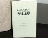 Possibilities, my illustrated poetry chapbook