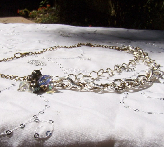 Vanora Mixed Metal Chain Necklace