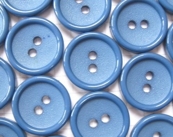 25 Blue Buttons