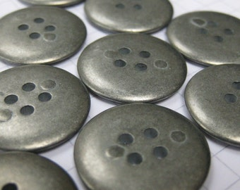 RESERVED 240 Pewter Buttons