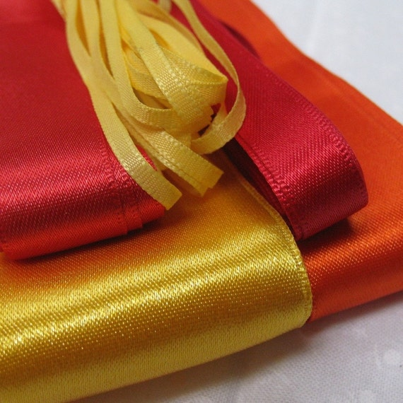 Bright Citrus Mixed Ribbon Pack