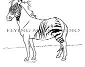 The Horse Lover's ABC Coloring Book PDF