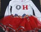 Ohio State Buckeyes Custom Cheerleader Set