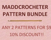 NEW Save with Pattern Bundles-Choose from any popular crochet pattern in the shop