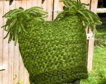 Funky Fun Kids Hat Instant Download PDF Crochet Pattern