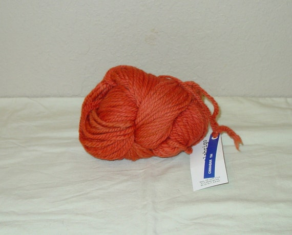 Malabrigo Chunky Yarn in Cinnabar Hand Dyed Bulky Wool