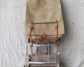 vintage c. 1960s Boy Scouts of America yucca pack and cruiser frame