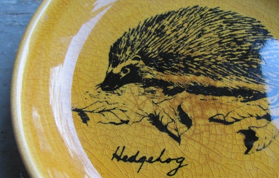 RESERVED FOR bunnywithatoolbelt - HEDGEHOG Dish