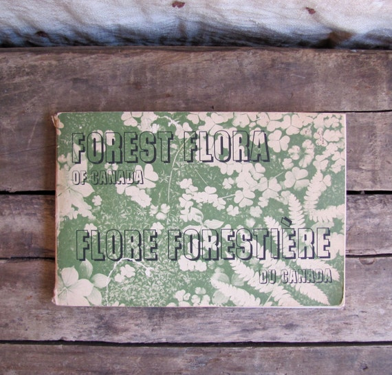 vintage 1960s book // Forest Flora of Canada