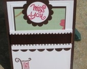 Miss You Pocket Card