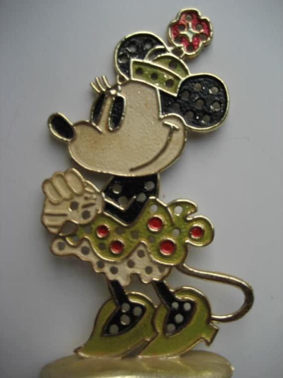 Vintage Minnie Mouse Earring Holder