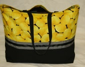 Lemon Market Bag
