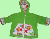 Send Me A LINE reversible 4t-5t children jacket hoodie