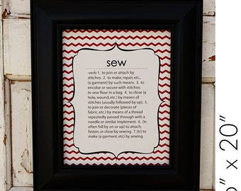 Sew Defined Art Print