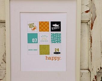 Lucy's Happy Print
