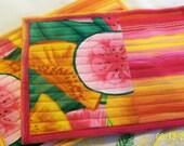 Citrus Mug Rugs Citrus Fruit Mini Placemats Snack Mats