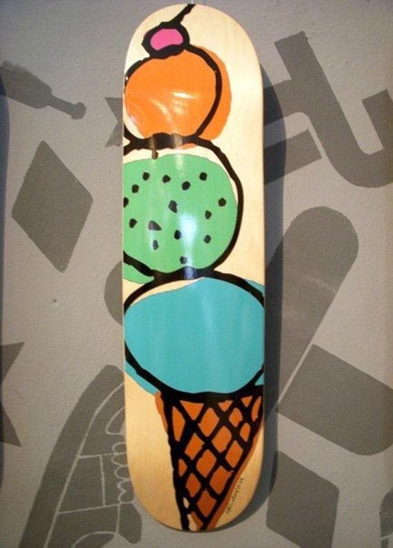 Ice Cream Skateboards Ice Cream Skateboard Deck