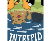 Intrepid minicomic