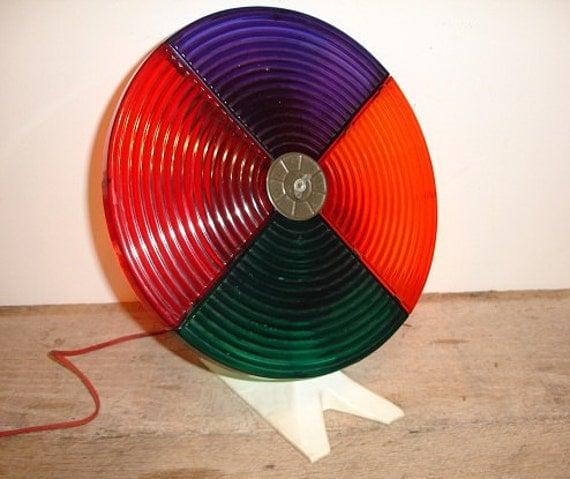 Vintage Christmas Tree Color Wheel      h