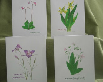 Northwest Wildflower Notecard Set with Envelopes