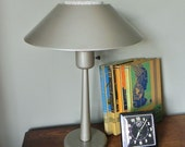 Vintage industrial table desk lamp - great light - 3 way switch.