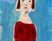 The Whistler - original painting on paper no 133