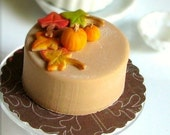 Dollhouse Miniature Autumn Cake