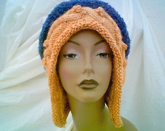 Halo Original Hand Knit Hat That Protects Spine One Size - LUX version